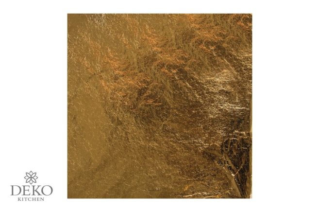 Deco-Metall 5 Blatt gold