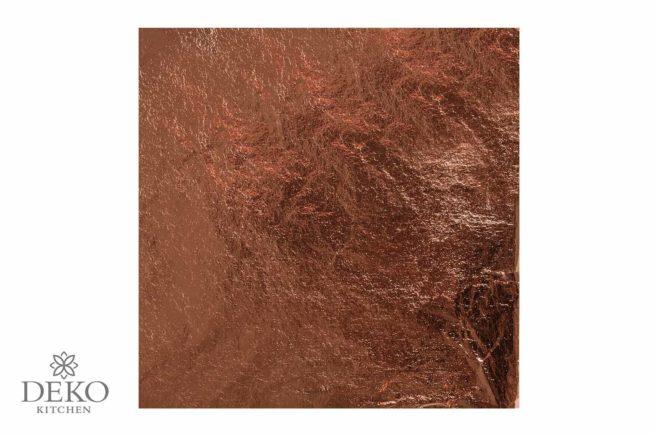 Deco-Metall kupfer, 5 Blatt 14 x 14 cm
