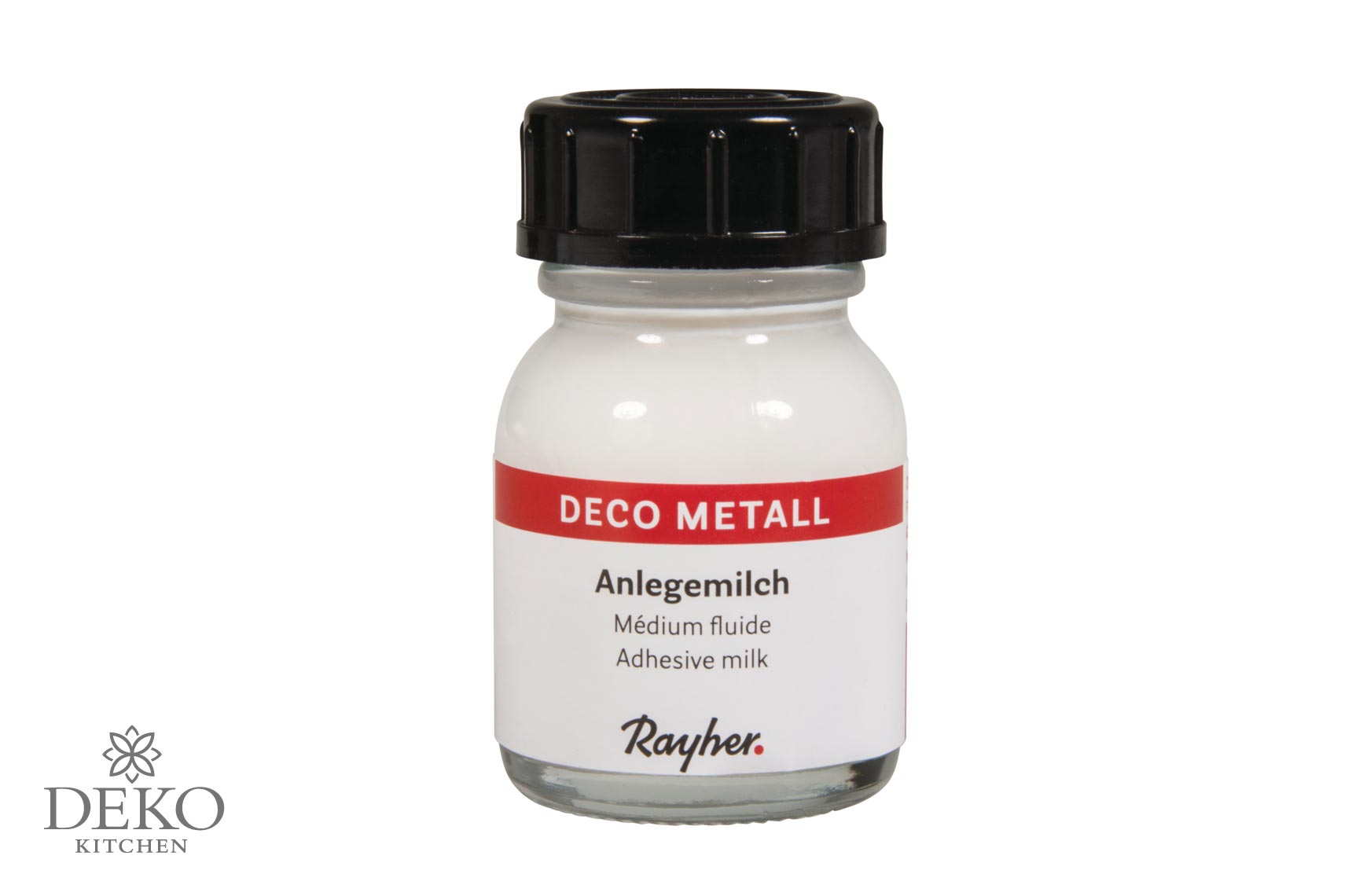 Deco metall anlegemilch 25 ml deko kitchen shop for Metall deko shop