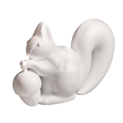 Styropor-Eichhörnchen 18 cm