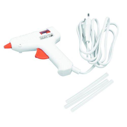 Mini-Niedrigtemperatur-Heißklebepistole inkl. 3 Klebesticks