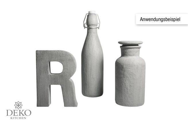 Anwendungsbeispiel: Kreativ-Beton-Paste