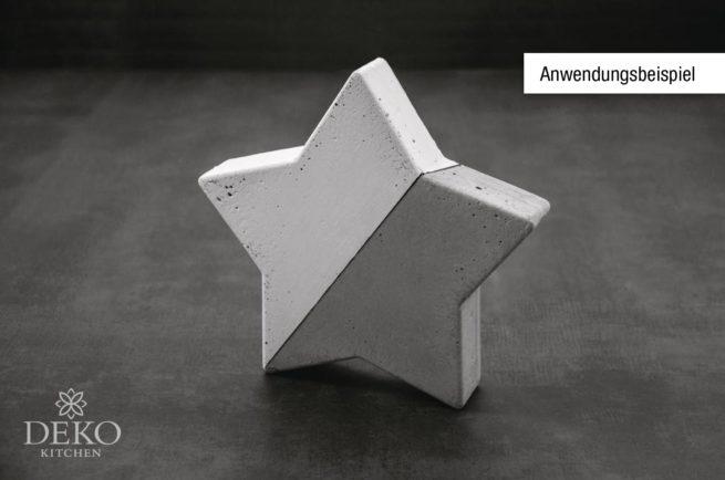 Anwendungsbeispiel: Gießform Stern