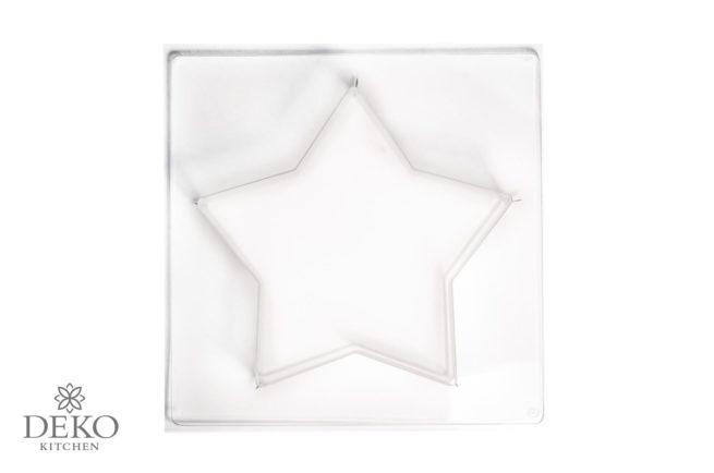 Gießform Stern mittelgroß