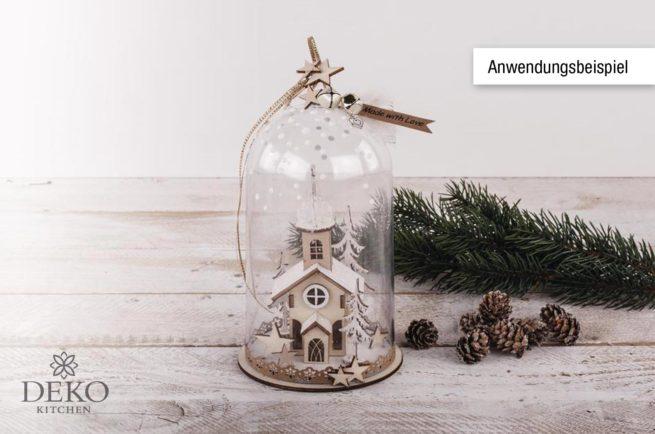 Holz-Bausatz: Weihnachtskirche
