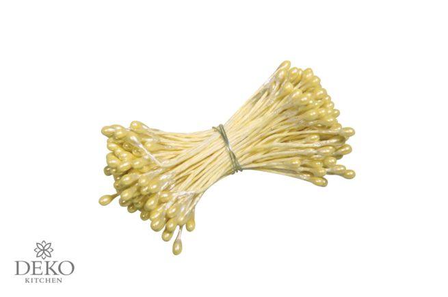 Blütenstempel 144 Stk. gelb