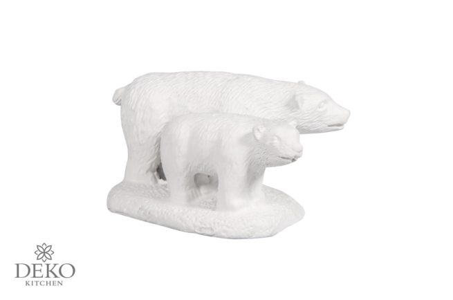 Polyresin-Eisbären