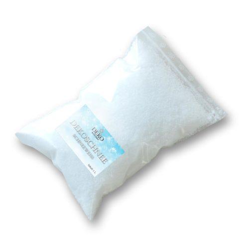 Deko-Schnee, schnweeweiß 1 Liter