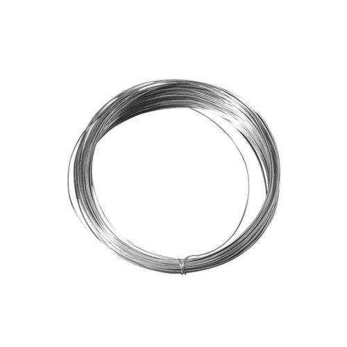 Silberdraht mit Kupferkern, 0,4 mm, 20 m