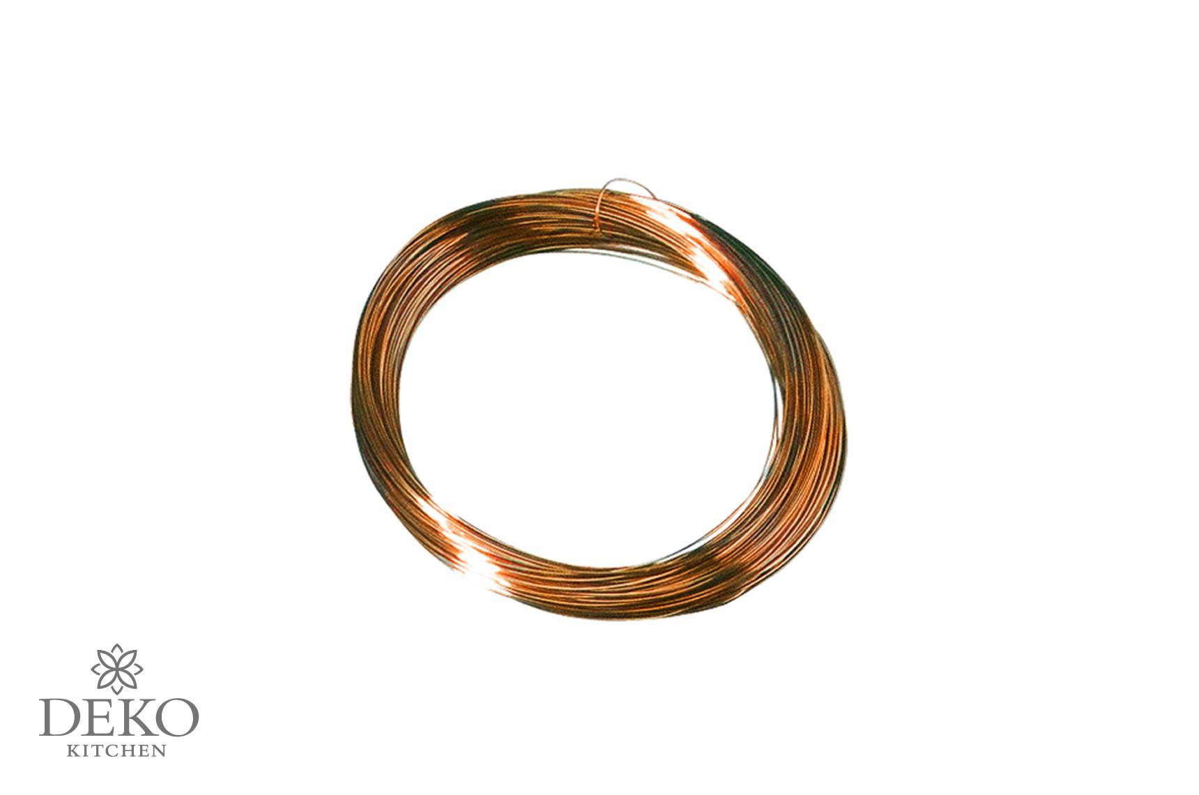 Kupferdraht, 0,4 mm, 20 m | Deko Kitchen Shop