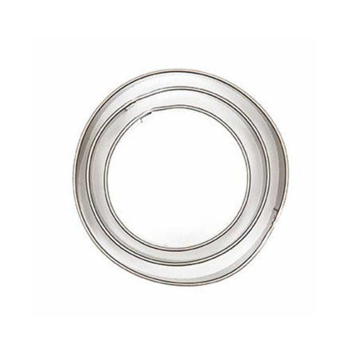Ausstechform Kreis in 3 Größen, 3 Stück