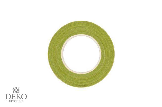 Kreppwickelband hellgrün, 12 mm x 275 cm