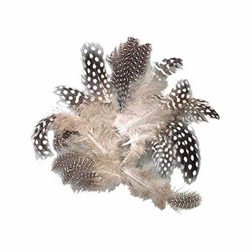 Perlhuhnmollen natur, 4-8 cm, 3g