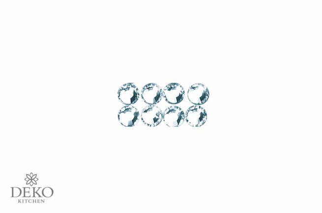 Swarowski Kristallsteine zum Aufbügeln 4 mm, 20 Stk.