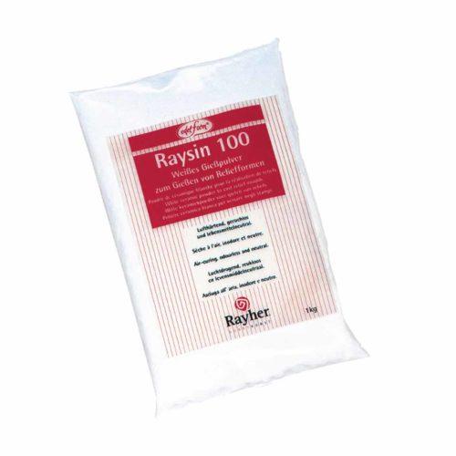 Gießpulver Raysin weiß, 1 kg