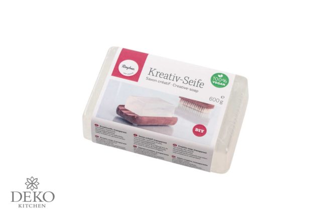 Kreativ-Seife, transparent, 600g Block