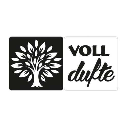 """Seifen-Labels """"Lebensbaum/voll dufte"""" 2-teilig"""