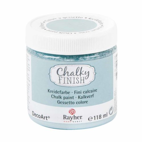 "Kreidefarbe ""Chalky Finish"" 118 ml, blaugrau"