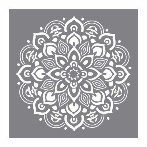 Schablone Mandala 30,5 x 30,5 cm