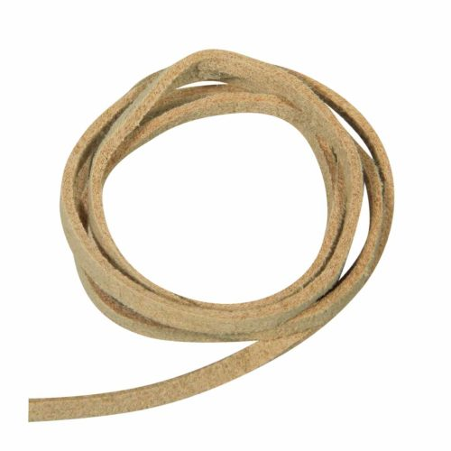 Micro-Willeder Band 3 mm, beige