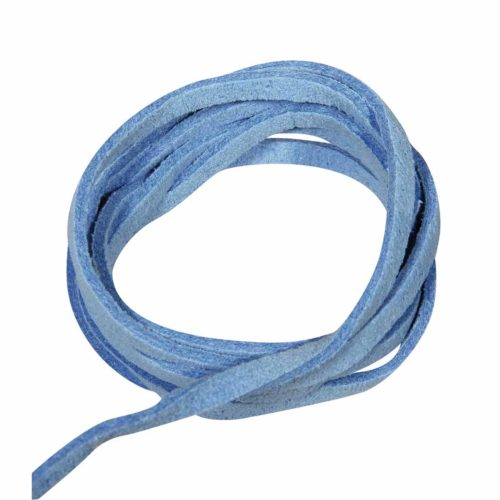 Micro-Willeder Band 3 mm, mittelblau