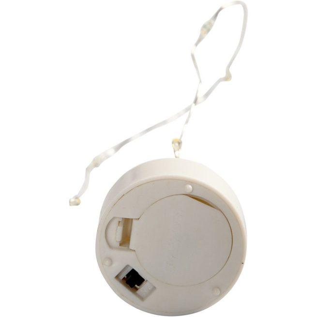 LED-Teelicht mit Lichterkette