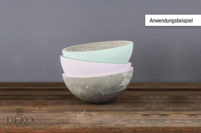 Gießform für Schalen mit 20 cm Durchmesser