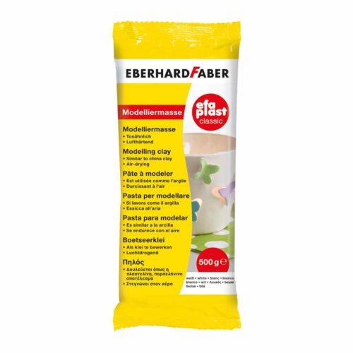 Eberhard Faber EfaPlast Modelliermasse, weiß, 500g