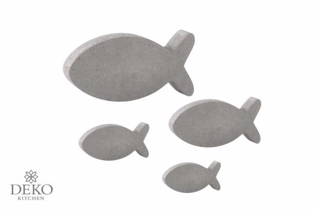 Gießform Fische in 4 Größen