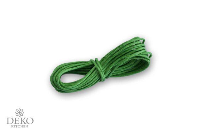 Papierdraht grün, 5 Meter lang