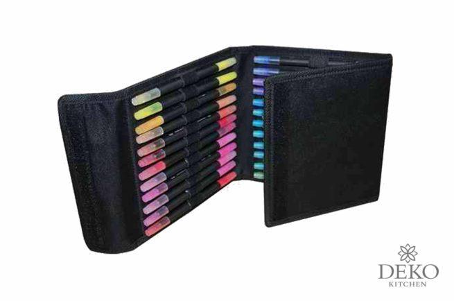 Artiste Ayquarellstifte-Set mit zweiseitiger Spitze, 36 Farben