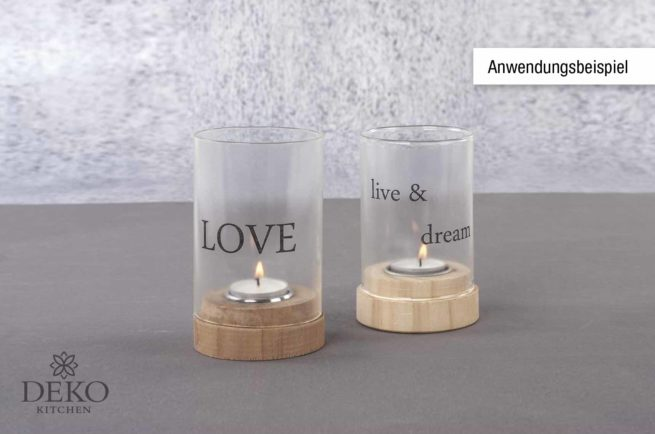 Kerzen-Tranferfolie A4 transparent
