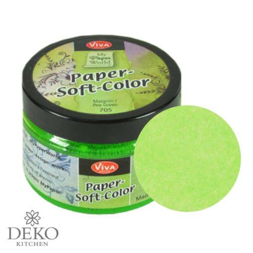 Paper-Soft-Color Stempelfarbe maigrün, 75 ml