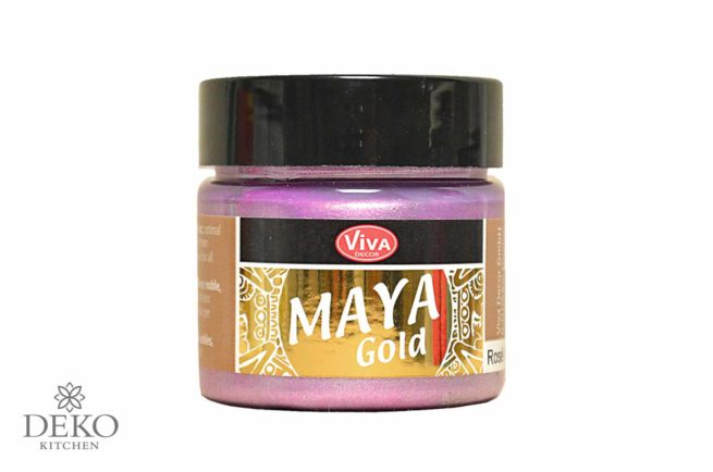 Maya-Gold Metallicfarbe rosé 45ml