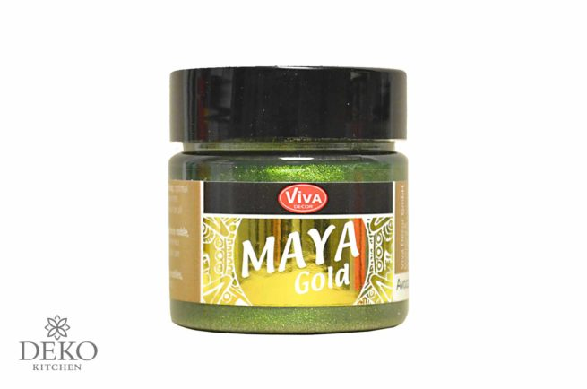 Maya-Gold Metallicfarbe avocado 45ml