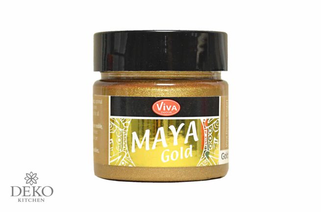Maya-Gold Metallicfarbe champagner 45ml
