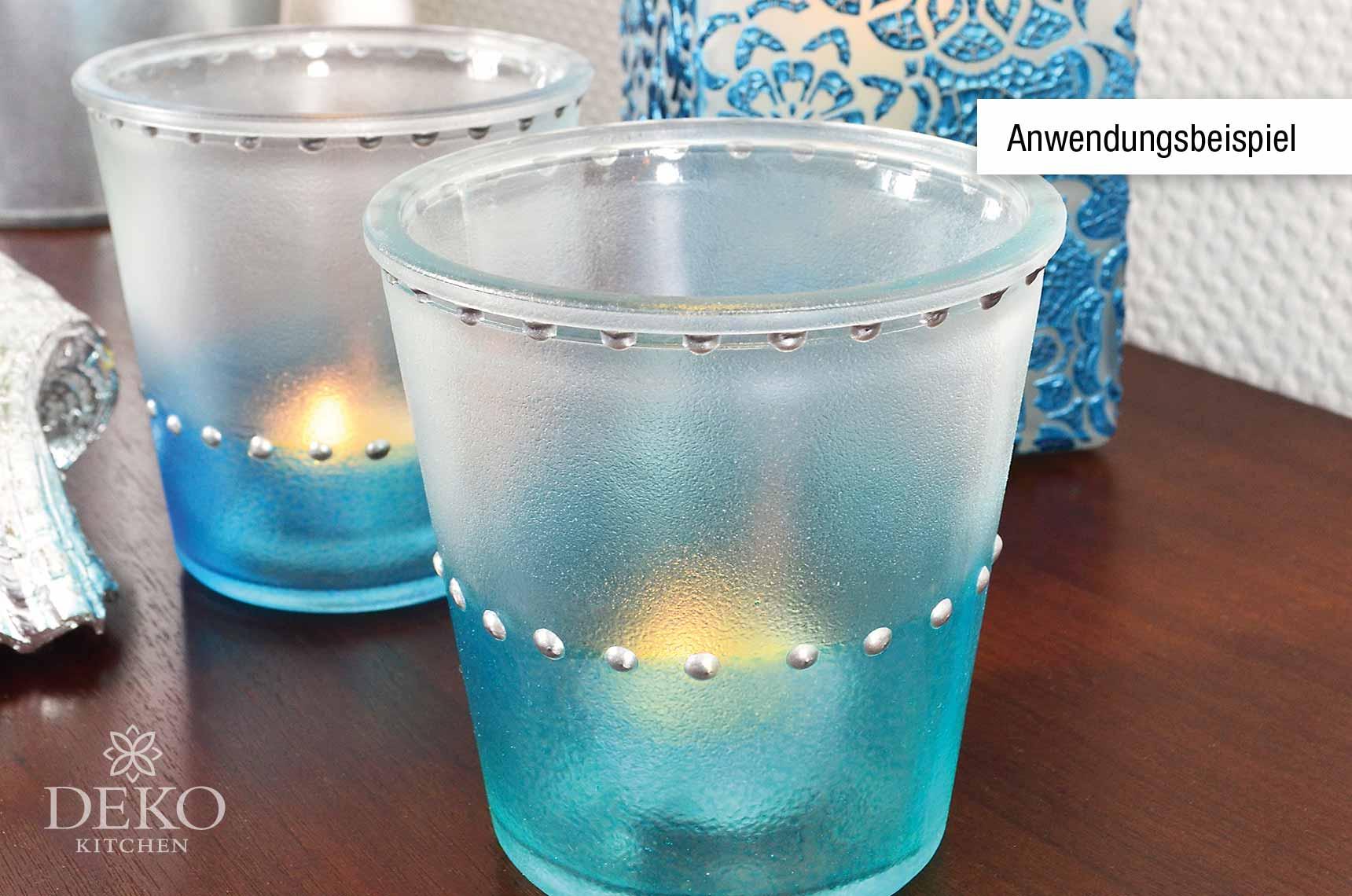 frost effekt farbe satin matt glas t rkis 82ml deko kitchen shop. Black Bedroom Furniture Sets. Home Design Ideas