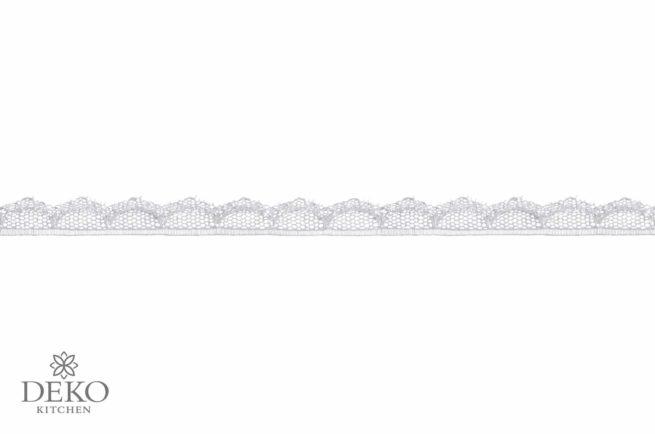 Spitzen-Bordüre weiß, 15mm breit