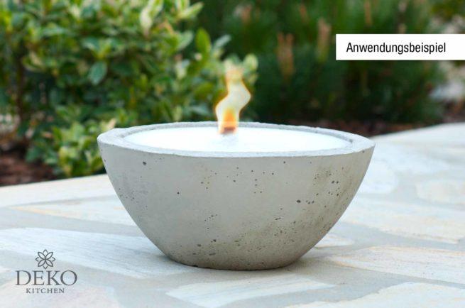Flachdocht für Kerzen von 60 - 100 mm Durchmesser
