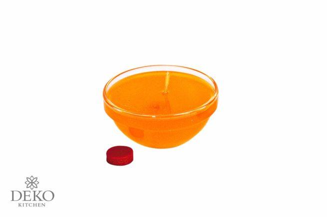 Färbetabletten für Wachs und Kerzengel 3 Stk. orange