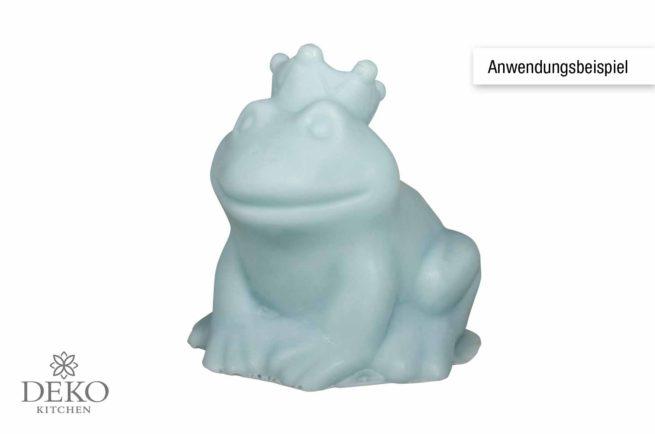 Latex-Vollform Froschkönig zum Gießen von Seife, Beton oder Raysin