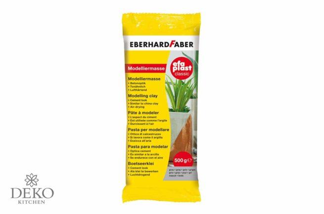 Eberhard Faber Modelliermasse efaPlast grau Betonoptik 500 g