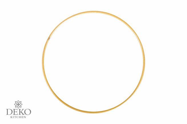 Metallring beschichtet, gold, 25 cm
