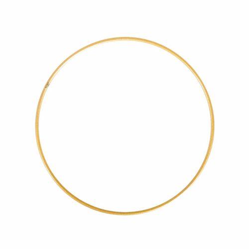 Metallring beschichtet, gold, 20 cm