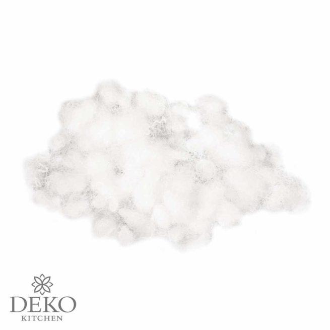 Deko-Flauschflocken weiß, 20 g