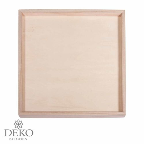Holz-Deko-Rahmen, 26 x 26 cm
