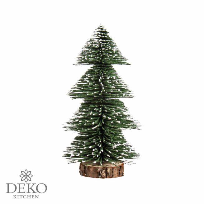 Deko-Tannenbaum beschneit, 20 cm