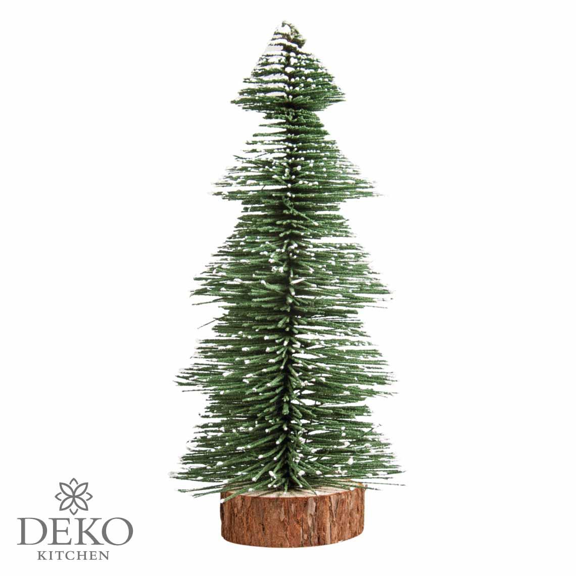 Tannenbaum Der Schneit.Deko Tannenbaum Beschneit 25cm