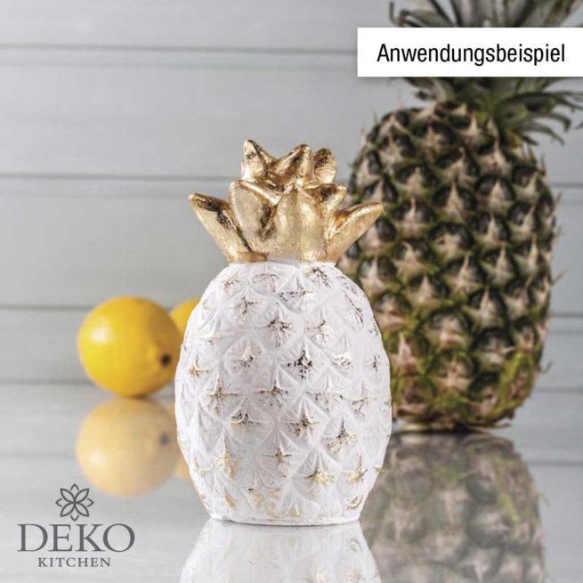 Latex-Gießform Ananas 15 cm hoch