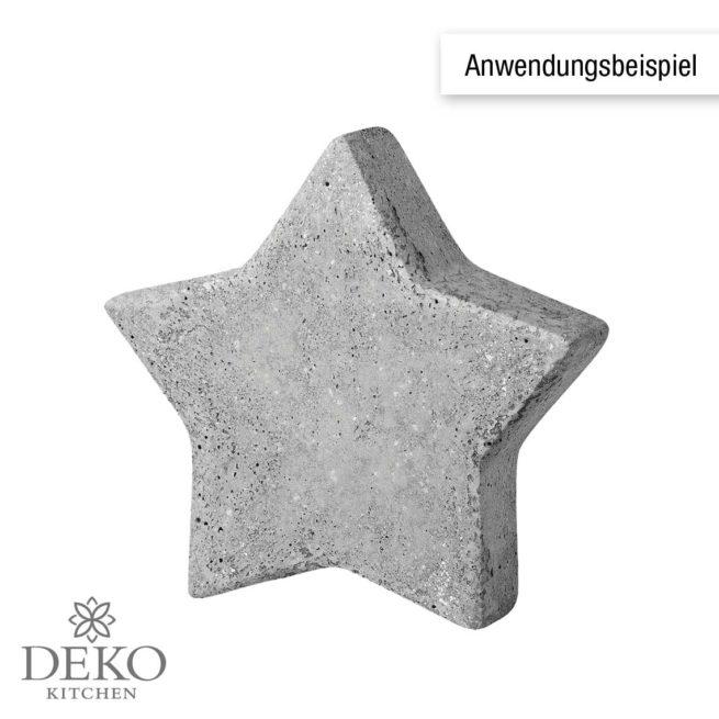 Gießform Stern 6 cm